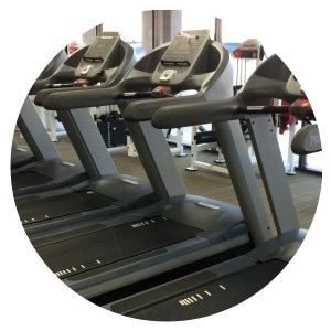 Treadmills cleaned in our Gym Cleaning Service in Harrogate