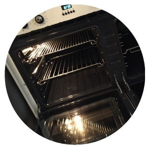 Clean oven as part of our End of Tenancy Cleaning Service
